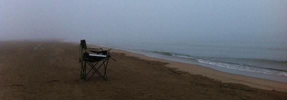 silla en la playa